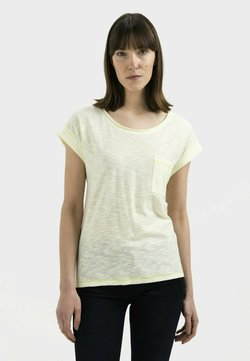 camel active - T-Shirt print - lemon white