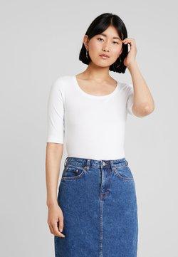 Opus - DAILY - T-shirt basic - white