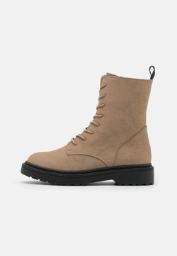 Rubi Shoes by Cotton On - FREDA LACE UP BOOT - Schnürstiefelette - taupe
