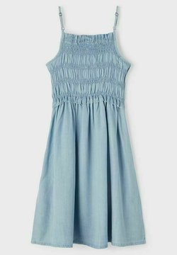 Name it - Freizeitkleid - light blue denim
