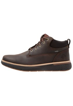 Timberland - CROSS MARK GTX CHUKKA - Schnürstiefelette - potting soil