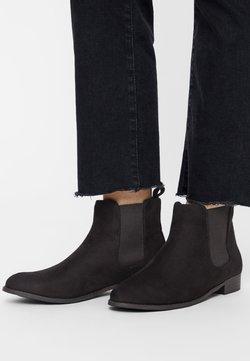 Bianco - CLASSIC CHELSEA - Ankelstøvler - black