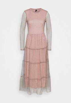 Vero Moda Tall - VMJUANA DRESS - Maxi dress - misty rose/black