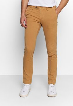 GANT - SLIM STRUCTURE  - Chinot - clay