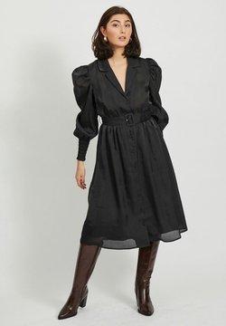 Object - Vestido camisero - black
