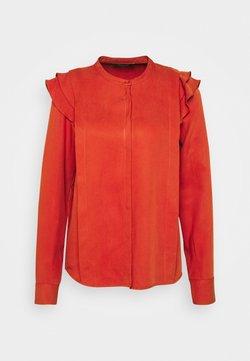 Bruuns Bazaar - PRALENZA HAYLIN SHIRT - Camisa - brick red