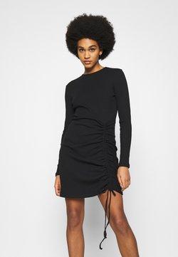 Nly by Nelly - DRAWSTRING DRESS - Vestido ligero - black