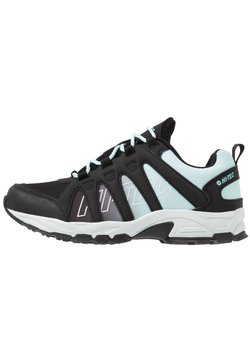 Hi-Tec - WARRIOR WOMENS - Vaelluskengät - charcoal/misty blue
