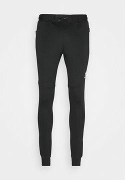 Gym King - CHIBA TRACKSUIT BOTTOMS - Jogginghose - black/grey marl