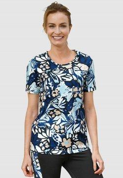 Paola - T-Shirt print - marineblau schwarz hellbraun