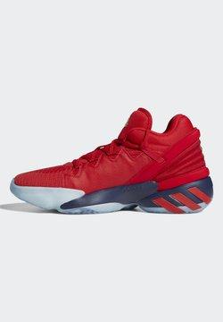 adidas Performance - D.O.N. ISSUE 2 - Chaussures de basket - scarlet/team navy blue/gold metallic