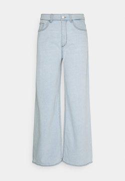 DL1961 - HEPBURN WIDE LEG HIGH RISE VINTAGE - Relaxed fit jeans - sea salt