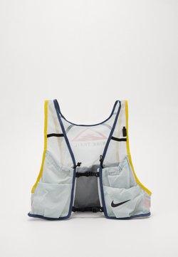 Nike Performance - MENS RUNNING TRAIL VEST - Juomareppu - aura/diffused blue/speed yellow/black