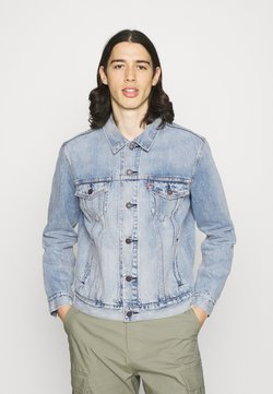 Levi's® - THE TRUCKER - Denim jacket - light-blue denim