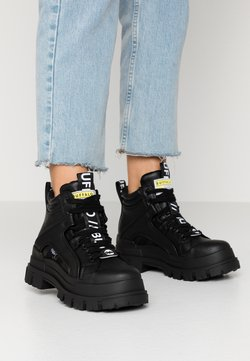 Buffalo - ASPHA MID - Höga sneakers - black