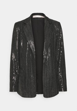 Esqualo - SEQUINS - Blazer - black