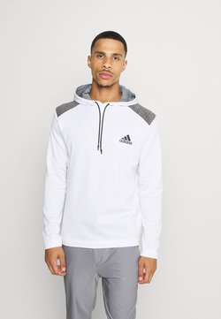 adidas Golf - SPORTS GOLF HOODED  - Fleecepullover - white