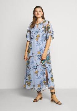 JUNAROSE - by VERO MODA - JRSHIRIAMIA SLEEVE DRESS  - Hverdagskjoler - zen blue