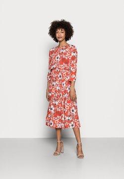 Esprit - DRESS - Vapaa-ajan mekko - orange red