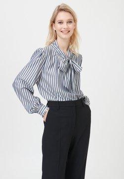 Dea Kudibal - LE NS V - Bluse - stripe gold