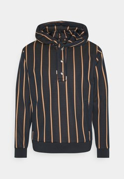 Scotch & Soda - PINSTRIPE HOODED - Felpa con cappuccio - dark blue