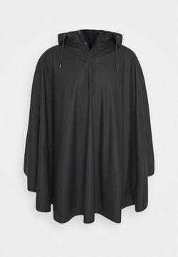 Rains - UNISEX CAPE - Regnjakke / vandafvisende jakker - black