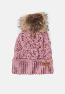 Barbour - PENSHAW CABLE BEANIE - Mütze - pink