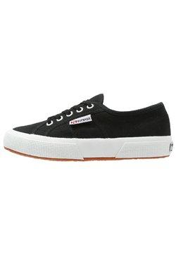 Superga - 2750 COTU CLASSIC UNISEX - Sneaker low - black/White