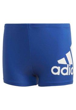 adidas Performance - BADGE OF SPORT SWIM BOXERS - Kąpielówki - blue
