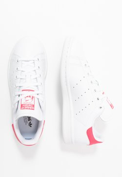adidas Originals - STAN SMITH - Baskets basses - footwear white/real pink