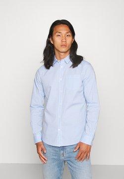 TOM TAILOR - FITTED EASYCARE SHIRT STRETCH - Koszula - light blue