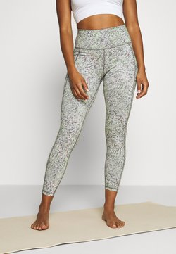 Sweaty Betty - SUPER SCULPT CROPPED YOGA LEGGINGS - Medias - green alert