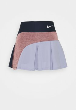 Nike Performance - SKIRT HYBRID - Sportkjol - obsidian/dark beetroot/indigo haze/white