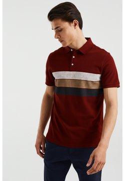 WE Fashion - Poloshirt - burgundy red