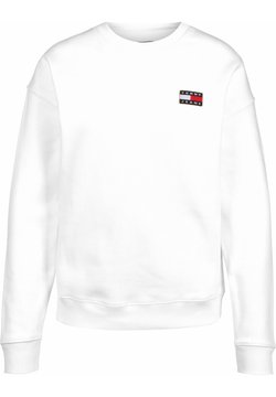 Tommy Jeans - BADGE  - Sweatshirt - white