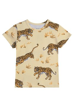 The Striped Cat - JUNO SS  CLASSIC TIGER - T-shirt print - sand