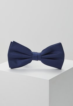 Tommy Hilfiger - SOLID RIBBED BOWTIE - Noeud papillon - blue