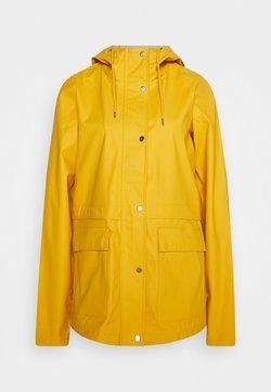 ONLY Tall - ONLTRAIN RAINCOAT - Sadetakki - yolk yellow