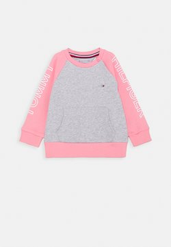 Tommy Hilfiger - BABY COLORBLOCK - Sweater - pink