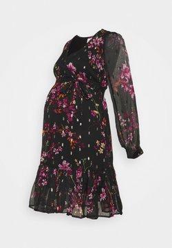 MAMALICIOUS - MLLIOBA SHORT DRESS - Sukienka letnia - black