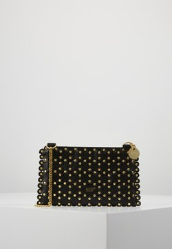 Red V - FLOWER PUZZLE MINI BAG - Kopertówka - black