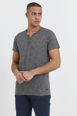 Solid - RUNDHALSSHIRT SIGOS - T-Shirt basic - black