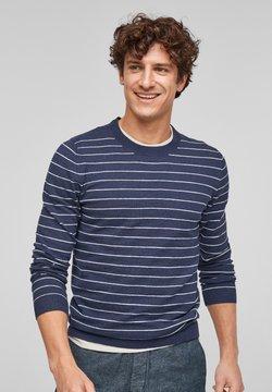 s.Oliver - Strickpullover - blue stripes