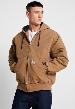 Carhartt WIP - ACTIVE JACKET DEARBORN - Overgangsjakker - hamilton brown aged