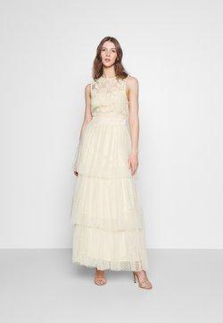 YAS - YASBIRINDA MAXI DRESS CELEB - Ballkleid - pearled ivory