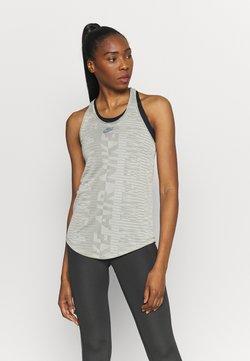 Nike Performance - AIR TANK - T-shirt de sport - light army/stone/black