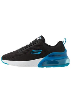 Skechers Sport - SKECH-AIR STRATUS MAGLEV - Sneaker low - black/blue