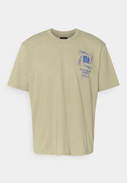 Edwin - TERRIBLE SIGHT UNISEX - T-Shirt print - sponge