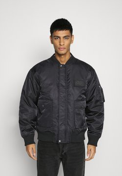 Mennace - DOUBLE POCKET - Blouson Bomber - black