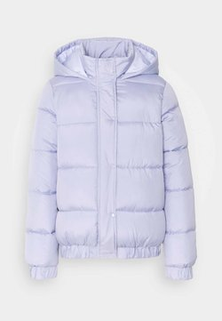 Missguided Tall - HOODED PUFFER - Winterjacke - lilac